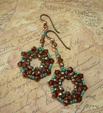 Southwest Serenade Beaded Earrings