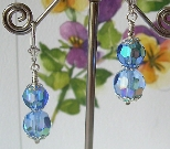 Rainbow Skies Leverback Earrings