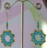 By the Sea Beaded Earrings