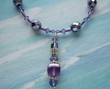 Passion for Purple Pendant Necklace