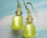 Limon Parfait - Dangle Earrings